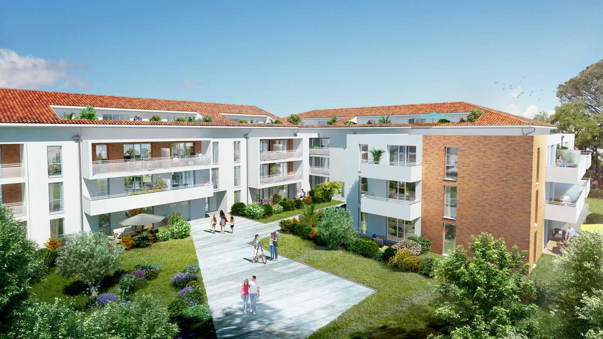 Les jardins de josephine à Toulouse
